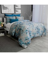 New Alamode Home Hycroft 3 Piece Twin Cotton Sateen Duvet Cover Set - $141.56