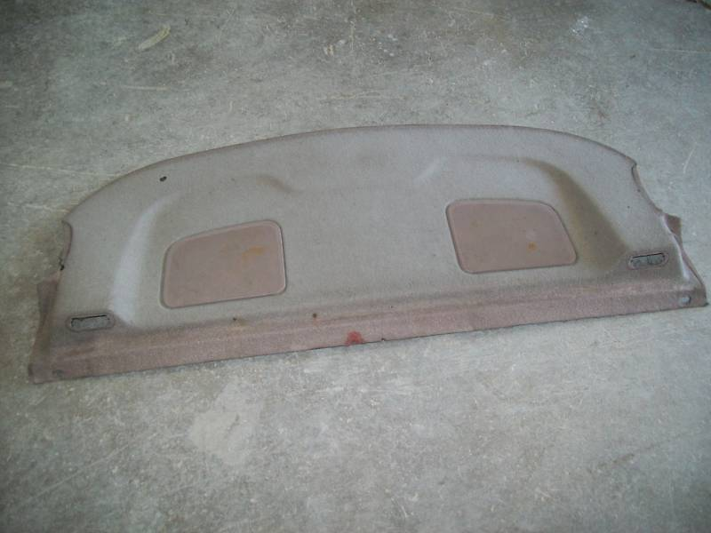 Primary image for 94 Ford Taurus SHO TAN Rear Interior Package Tray / 1994 / FADING - SPOTS