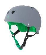 Triple Eight Helmet with Sweat Saver Liner, Carbon Rubber, Medium - $38.98