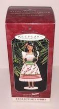 Vtg Mexican BARBIE Dolls of the World Hallmark Ornament Figurine - $9.89