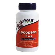 NOW Foods Lycopene 10 mg., 60 Softgels - $16.39