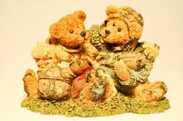 Boyds Bears & Friends: Grenville & Knute Football Buddies - Bearstone 02255 - $17.67