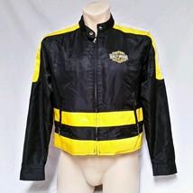 Harley Davidson Riding Jacket VTG Racing Biker Coat Womens Large - $69.99