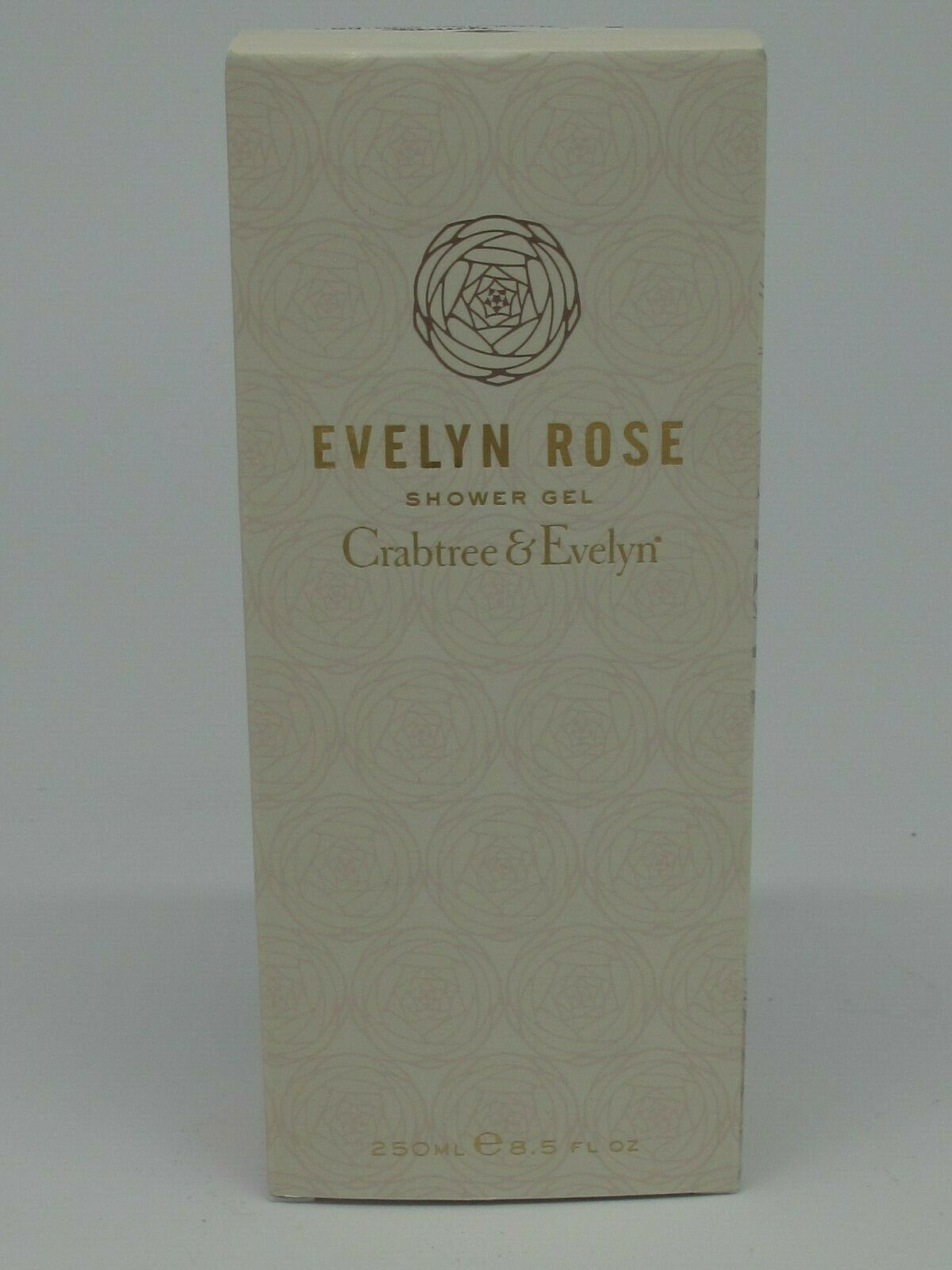 Primary image for Crabtree Evelyn Evelyn Rose Shower Gel 250 ml e 8.5 fl oz NIB
