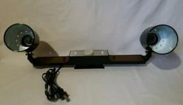 Vintage Mobilite Wall Mount Model 319 Dual Spotlight Adjustable Movable - $77.55
