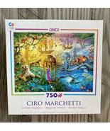 """Magical World"" Ciro Marchetti 750 Piece Jigsaw Puzzle (2015 Ceaco) 24"" ... - $13.98"