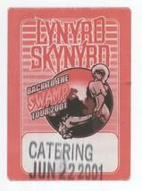 Lynyrd Skynyrd 6/22/01 Burgettstown PA CATERING Backstage Pass! Pittsburgh - $9.89