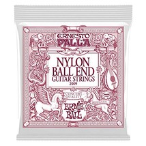 Ernie Ball Ernesto Palla Nylon Black and Gold Classical Ball End Set - $9.69