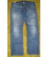 FADED BLUE Denim JEANS Levi's 505 Regular 34 x 30 - $15.00