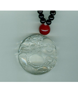 Gorgeous Dramatic Oriental Buddha Pendant Necklace Hand Made - $22.00