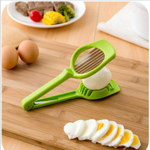 ymjywl Egg Slicer Section Cutter Mushroom Tomato Creative - $15.95