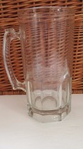 German Style Extra Large Glass  34 Ounce Beer Mug   - $5.00