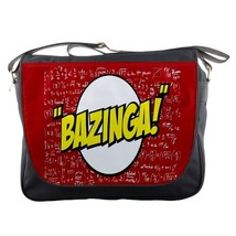 Messenger Bag Bazinga The Big Bang Theory The Popular Word For Anime Ga... - $30.00