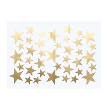 (gold)39Pcs DIY Little Gold Star Stickers Home Decor Living Room Decorat... - $14.00
