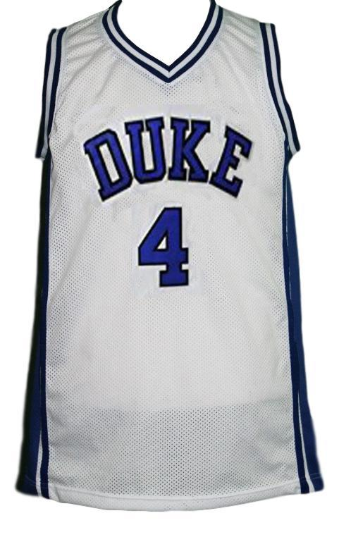 J.J. Redick #4 College Basketball Jersey Sewn White Any Size