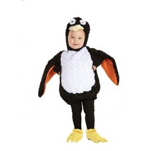 Underwraps Penguin Belly Babies Animal Infant Toddler Halloween Costume ... - $27.99