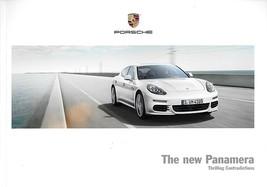 2014 Porsche PANAMERA brochure catalog US 14 4 S 4S e-Hybrid Turbo GTS - $12.00