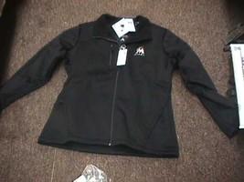 NEW MLB Miami Marlins Women's Traverse Jacket, Black, X-Large - $21.20