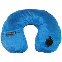 Travel Smart TS44NVY EZ Inflate Fleece Neck Rest (Navy) - $28.22