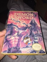 Demon Sword Nintendo Game & Box NES Original Taito - $19.34