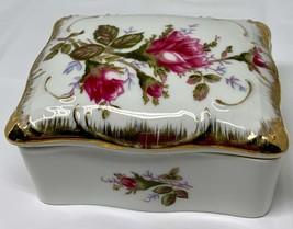 Vintage bone china cigarettes box and ashtrays. - $33.00