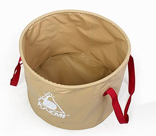 Kazmi Foldable Camping Basket Sink Bowl Multi Purpose Waterproof Picnic Basket L