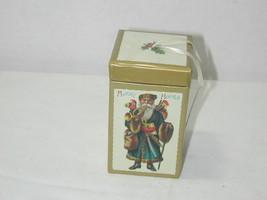 Department 56 Heirloom Cardboard Gift Box Tree Ornament with Santa - $0.98
