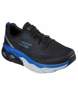 Skechers Black Blue Shoes Men Max Cushion Ultra Go Run Walk Sport Comfor... - $59.99