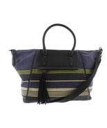 Splendid Salinas Weekender Tote Navy Stripe Canvas Beach Bag NWT $138 - $94.05