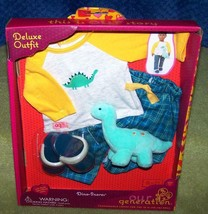 """Our Generation PJ's DINO-SNORES Deluxe Outfit for Most 18"""" Boy Dolls - $30.88"""