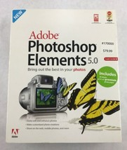 Adobe Photoshop Elements 5.0 Software & User Guide (Windows XP) - $28.04