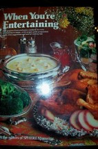 When You're Entertaining [Hardcover] Shere; Betty Crocker Magazine and P... - $6.53