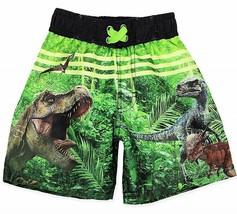 JURASSIC PARK WORLD INDOMINUS Swim Trunks Bathing Suit Boys Size 4, 5 or... - $14.84+