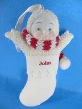 Department 56 Snowbabies John Stocking Ornament - $8.59