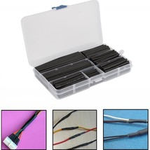 Heat Shrink Tubes Assorted Kit Wire Connectors Insulation Cable Wrap Sleeves New - $11.05