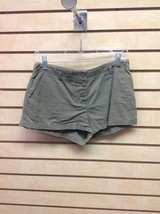 Express Women's Size 7/8 Army Green Button Up Casual Shorts - $10.90