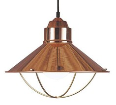 Kenroy Home 66349COP Rustic 1 Light Pendant, 13 Inch Height, 15.5 Inch Diameter  - $999.99
