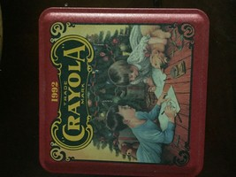 Crayola Collectible Holiday Tin - 1992 - $9.90