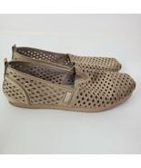 Skechers BOBS Gold Jewel Shimmer Metallic Comfort Slip-On Shoes Women's ... - $24.73