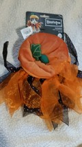 Bootique Pumpkin Cat Costume,  One Size Vitt All - $12.00