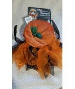 Bootique Pumpkin Cat Costume,  One Size Vitt All - $12.00