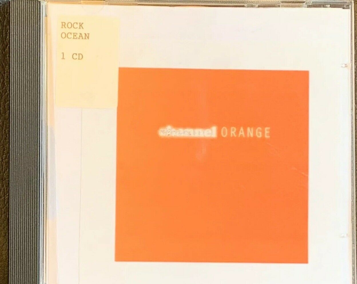 OCEAN FRANK CHANNEL ORANGE - ex-library