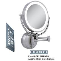Zadro LEDW410 LED Lighted Wall Mounted Makeup Mirror with Free Bioelemen... - $2.297,14 MXN