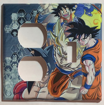 Dragon Ball Z Light Switch Power outlet phone jack Wall Cover Plate Home decor image 2