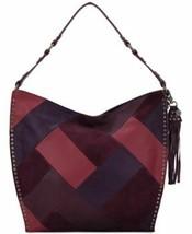 The Sak Womens Silverlake Leather Patchwork Hobo Handbag - $65.99