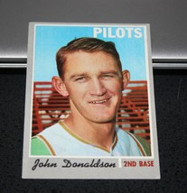 1970 Topps Baseball Card #418 John Donaldson - $3.95