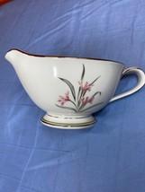 Vintage Noritake China Kent Floral Print White Creamer Bowl Made In Japan 5422 - $13.99