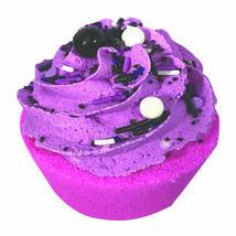 Black Raspberry Vanilla Cupcake Bath Bomb - Large (5 oz.) - $8.50