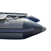 BRIS 12.5ft Inflatable Boat Inflatable Dinghy Rescue & Dive Raft Fishing Boat image 11
