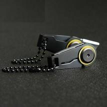 Key Ring Mini Zipper Knife Portable Tools Foldable Stainless Steel Edc O... - $6.92
